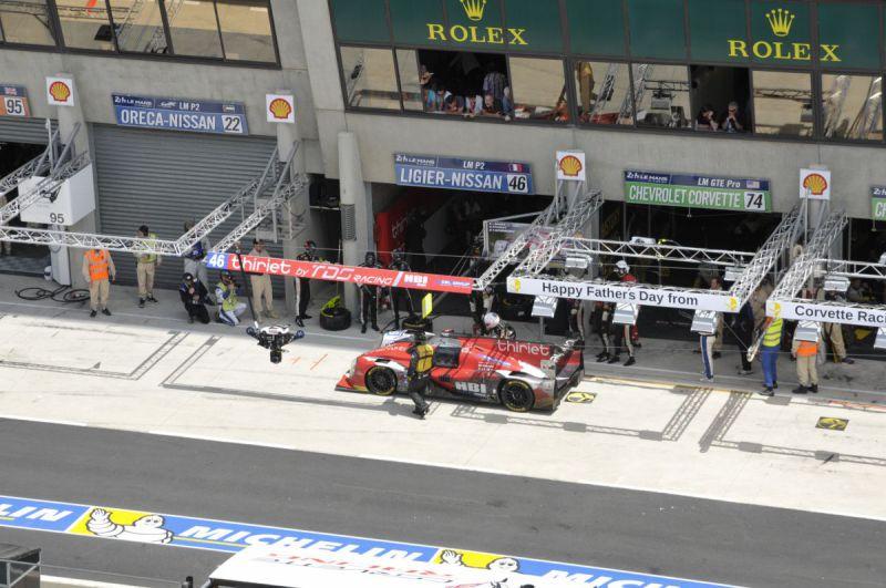 Flyline @ 24H Le Mans